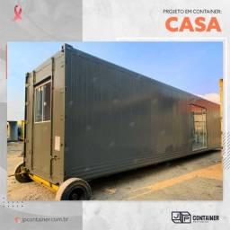 Container Alojamento Casa para Campo 30m²