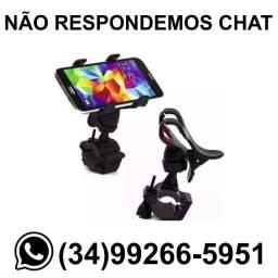 ? Entrega R$ 10 * Suporte Celular Moto Bike Presilha * Chame no Whats