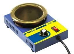 Cadinho de solda analógico Hikari C100 - 300W 220V 480°C