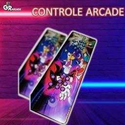 controle arcade do sonic