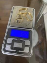 Brincos em ouro 18k