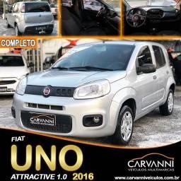 Título do anúncio: Fiat Uno Attractive 1.0 2016 Completo