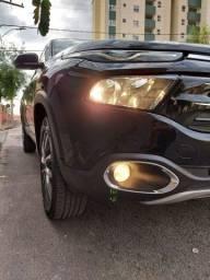 Fiat toro volcano 4x4 diesel preto metálico