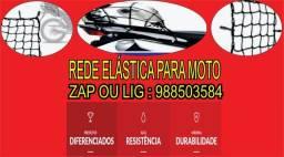 Rede elastica para moto