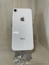 Vendo iPhone 8 64gb em 12x no cartão