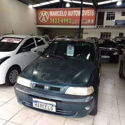 FIAT SIENA ELX 1.0 - 2001/2002 - Direção hidráulica - Azul - Gasolina