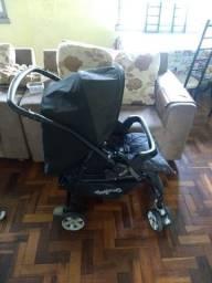 Carrinho de Bebê Burigotto Ótimo Estado + Colchonete de Brinde