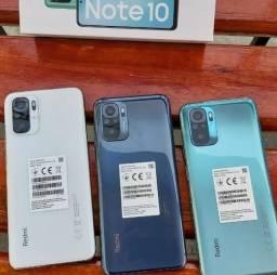 Smartphone Redmi Note 10 64GB/4GB Ram Verde/Cinza/Branco China