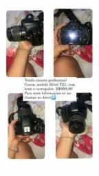 Câmera Canon profissional usada