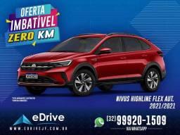 VW Nivus Highline 1.0 200 TSI Flex Aut. - CARRO ZERO KM - Mais Rápido - Confira!  2021