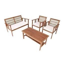 Conjunto de sofás para jardim