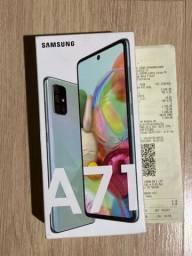Samsung A71 azul