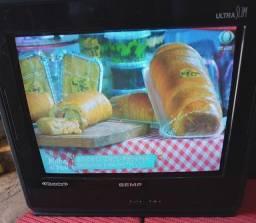 TV de 14 polegadas Semp aceito cartão