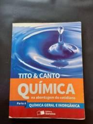 Química na abordagem do cotidiano - Parte A - Tito e Canto - Editora Saraiva