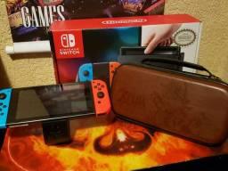 Nintendo switch impecável  D.E.S.B.L.O.Q.U.E.A.D.O
