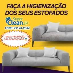 Lavagem a seco de estofados e higienização
