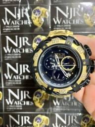 Relógio Invicta thunderbolt preto/Dourado novo