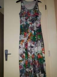 Vestido longo de malha ,usado apenas 1 vez .