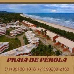 Praia da Pérola, 2/4 e Chalés 3/4 - vista mar - Ilhéus-BA( 60x Sem Juros) Sensacional