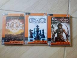 3 jogos para pc originais