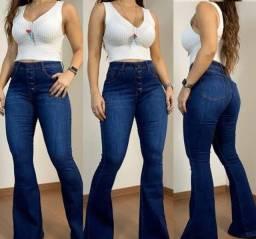 calças jeans feminina e masculina cintura alta no atacado do 36 ao 54