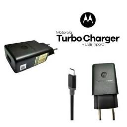 Carregador Turbo Motorola Moto Tipo C G6 G7 G8 e Plus