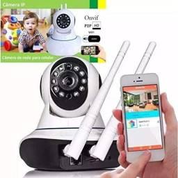 Título do anúncio: Camera wi-fi 2 Antenas HD