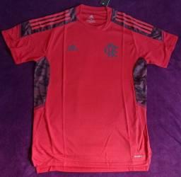 Camisa do Flamengo vermelha de treino (disponível: M, G e GG)