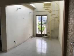 Cobertura Duplex 2 quartos com churrasqueira na Taquara.