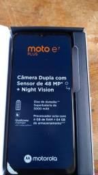 Motorola e7 plus azul nave