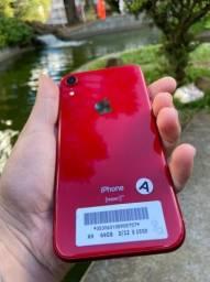 iPhone Batel / iPhone XR 64gb vermelho