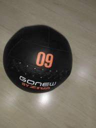 Vendo Bola para Treinamento Funcional Wall Ball Profissional 9kg - Ziva