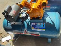 Compressor 130 litros monofásico de 120 libras