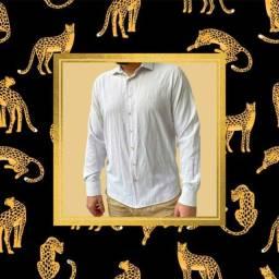 Título do anúncio: Camisa Social Masculina Branca M