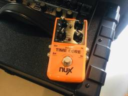 Pedal Nux Time Core Delay, Loop Tap Tempo