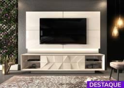 Rack com Painel Domani para TV até 75'  - Catálogo completo via whats