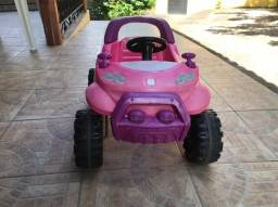 carrinho smart cross barbie seminovo - R$ 160,00.