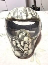 Máscara para paintball