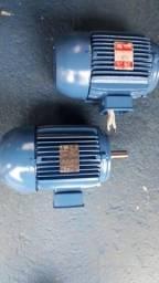 Motor elétrico trifásico 1.5 cv rpm 860 .