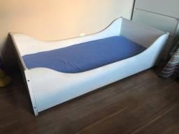Cama Baixa para criança Tok&stok + colchão