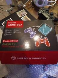 Aceito cartão! Game box e Android tv