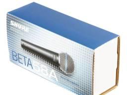Microfone shure beta58a original fabricado no México