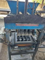 Maquina hidráulica para blocos e pavers