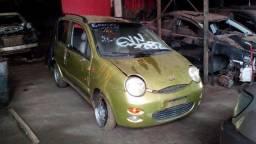 Sucata Chery QQ 1.1 16V Gasolina Ano: 2012