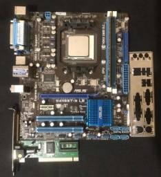 Placa Mãe Asus M4N68T-M LE, AM3, DDR3 1333MHz