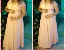 Título do anúncio: Vestido Rosa para festas