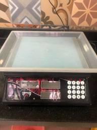 Balança Computadora à Bateria com display lcd 15Kg x 5g preta - Dcr cl - Ramuz-1057