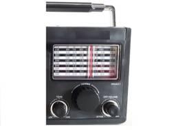 Rádio Retro Am Fm Cartão Sd Entrada Usb LivStar Bluetooth