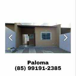 Casa bem localizada na Pacatuba, venha conferir!