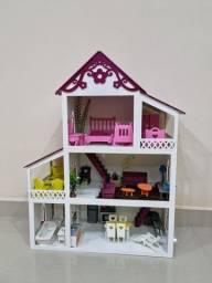 Casinha de boneca Polly ou Loll